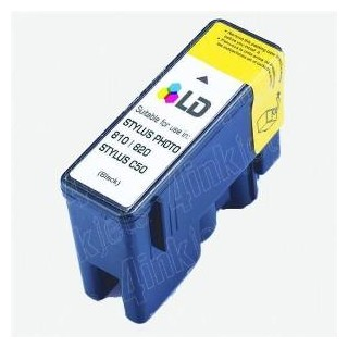 T026/ Compatible Epson Stylus Photo 810/830/830U/925/935-Negro