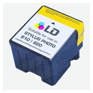 T027/ Cartucho Compatible Epson Stylus Photo 810/830/830U/925/930
